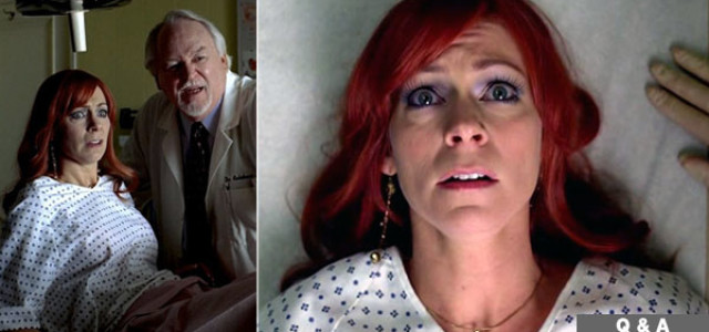 Carrie Preston talks about Arlene's baby situation