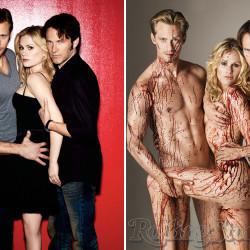 True Blood Magazine Photo Comparison