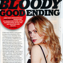 True Blood Featured in September 10 Entertainment Weekly