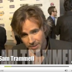 Sam Trammell, Rutina Wesley and Kristin Bauer 2010 Scream interviews