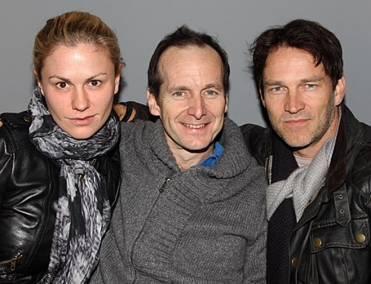 Anna Paquin, Denis O'Hare and Stephen Moyer