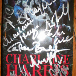"""Rare """"Club Dead"""" book signed by True Blood cast auctioned for charity"""