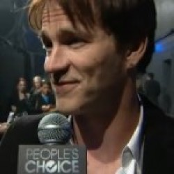 Video: Back Stage at People's Choice with Stephen Moyer