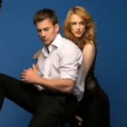 Behind the Shoot of Elle with Chris Evans and Evan Rachel Wood
