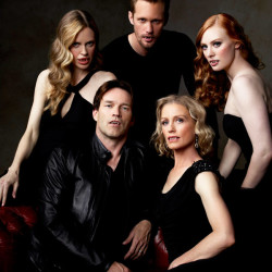 Nan Flanagan Holds Court with True Blood Vamps