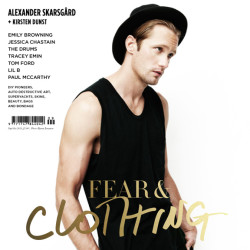 """Alexander Skarsgård on the cover of Wonderland's """"Priceless"""" issue"""