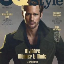 Alexander Skarsgård on the Cover of GQ German