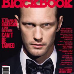 Alexander Skarsgård on the cover of BlackBook
