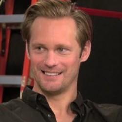 "Alexander Skarsgård radio interview on ""The Giver"""