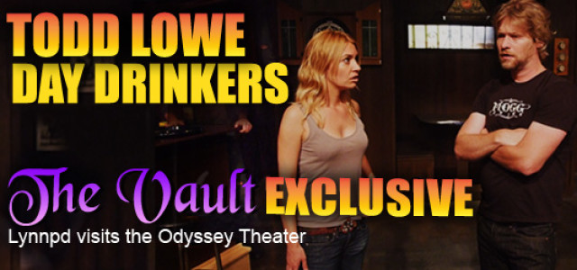 Todd Lowe in 'Day Drinkers' at the Odyssey Theater in LA