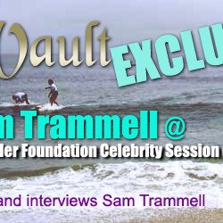 The Vault Exclusive Sam Trammell at Surfrider Celebrity Session