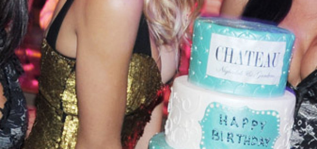 Brit Morgan celebrated her birthday in Las Vegas