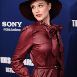Evan Rachel Wood attends the NYC premiere of 'The Ides of March'