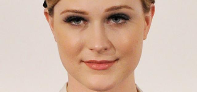 Evan Rachel Wood attends BFI London Film Festival