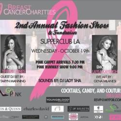Tara Buck and Natasha Alam to attend Breast Cancer Fundraiser