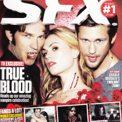 True Blood featured in January 2012 SFX Magazine