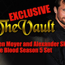 Vault Exclusive: Stephen Moyer and Alexander Skarsgård on True Blood Season 5 Set