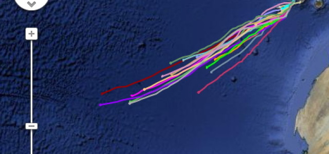 Facing The Atlantic Log Book: One week at sea