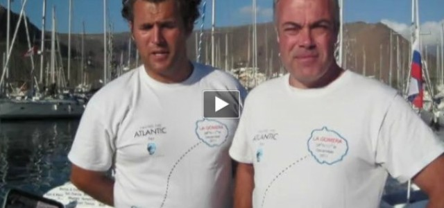 Facing The Atlantic Log Book: The first 48 hours on the Atlantic
