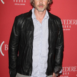 Sam Trammell Attends Belvedere Red Grammy Party