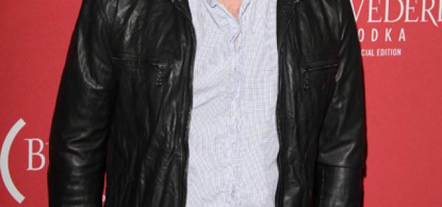 Sam Trammell Attends Belvedere Red Grammy Party