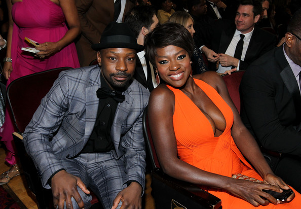 Nelsan Ellis And Alfre Woodard At The 43rd Naacp Image