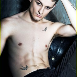 Giles Matthey says he's lucky and honored to be on True Blood