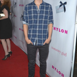 Giles Matthey at NYLON Magazine Annual May Young Hollywood Issue