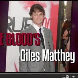 Giles Matthey Understands Why People Get Hot Over 'True Blood'