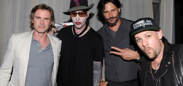True Blood's Sam Trammell & Joe Manganiello at Sunset Strip Music Festival