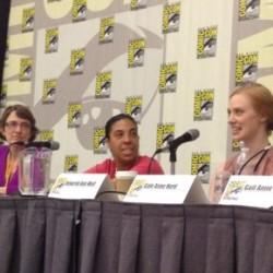 Deborah Ann Woll and Angela Robinson at Comic Con 'Girls Gone Genre'