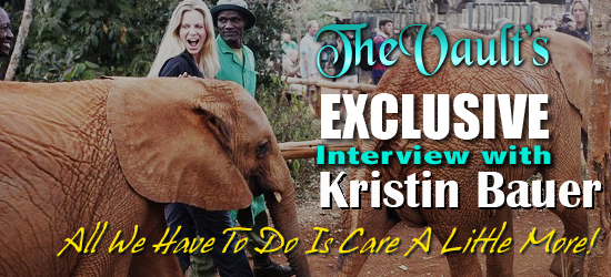 Exclusive interview with Kristin Bauer: 'All we have to do is care a little more'