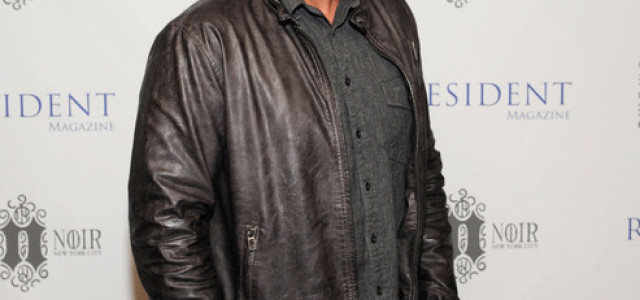 Chris Bauer at Resident Magazine's 25th Anniversary Party in NYC