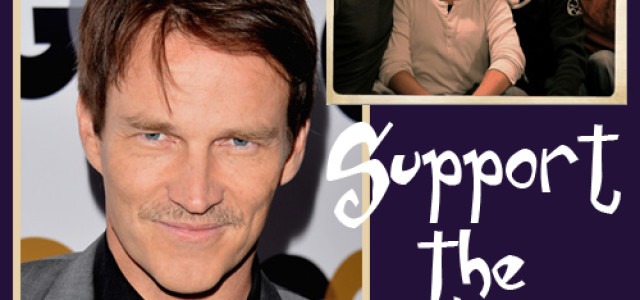 Support Stephen Moyer's Movember Moustache and make a donation