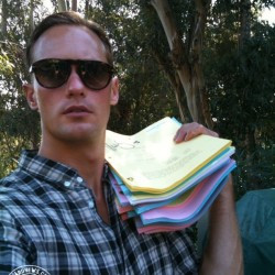 Two Alexander Skarsgård Season 4 Signed Scripts Up for Auction