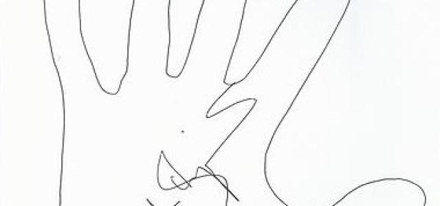 BID 2 BEAT AIDS TRUE BLOOD Original Lend-A-Hand Art