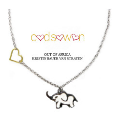 Kristin Bauer designs 'Elephant Love' necklace with Cadsawan Jewelry