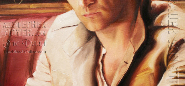 Exclusive: Kristin Bauer's painting of Stephen Moyer revealed