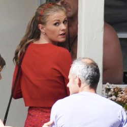 True Blood's Anna Paquin on location with new love interest