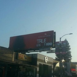 True Blood Billboards are up in Los Angeles and New York City