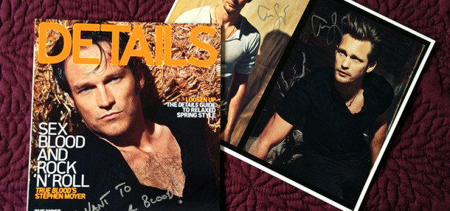 Last chance to bid on signed True Blood memorabilia in support of American Red Cross