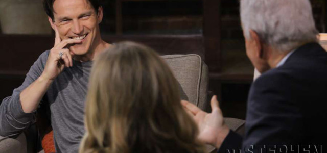 Stephen Moyer on Good Day LA today