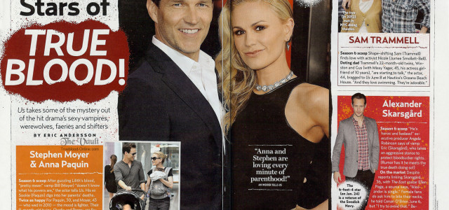Hot Stars of True Blood Featured in US Weekly Magazine