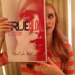 EJ Scott is auctioning off more Signed True Blood Items on EBay