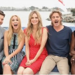 True Blood cast on the TV Guide Magazine Yacht at Comic Con