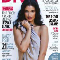 True Blood's Jessica Clark takes it all off again for DIVA Magazine
