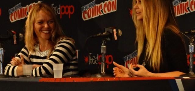 Kristin Bauer van Straten & Lauren Bowles – NYC Comic Con Panel