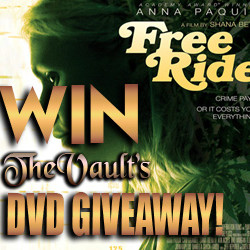 Winners FREE RIDE DVD giveaway announced