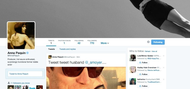 Stephen Moyer and Anna Paquin are now Officially on Twitter
