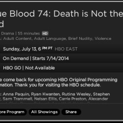 "New Title for True Blood 7.04 ""Death Is Not The End"""